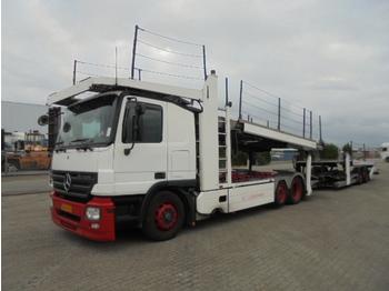Autotransporter truck Mercedes-Benz 2536 LL MIDLIFT