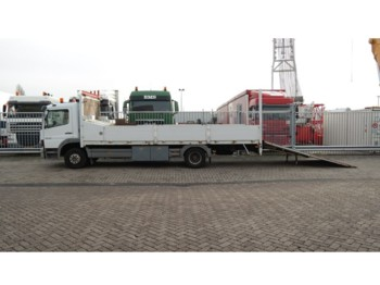 Mercedes-Benz ATEGO 1218 TRUCK FOR MANCHINERIE AND CAR TRANSPORT 142.000KM - autotransporter truck