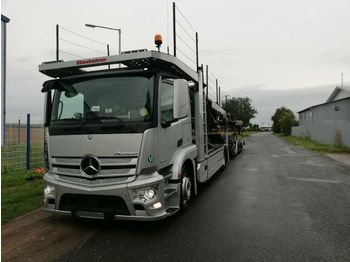 Autotransporter truck Mercedes-Benz Actros 1843 Metago/Supertrans Euro-6