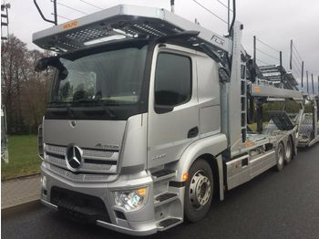 Autotransporter truck Mercedes-Benz Actros 2443,MP5,MirrorCam,Rolfo FLX
