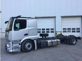 Autotransporter truck Mercedes-Benz Actros MP5 1843, MirrorCam EU6