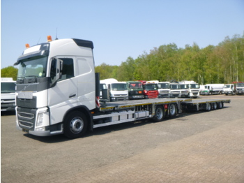Autotransporter truck Volvo FH 420 6X2 Euro 6 car/machinery transporter / platform volume combination