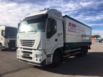 Iveco Stralis 430 Getränke-Koffer, Ladebordwand - beverage truck
