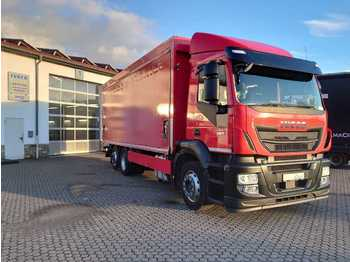 Beverage truck Iveco Stralis AD260SY36 Schiebeplane+LBW Abbiege Euro6
