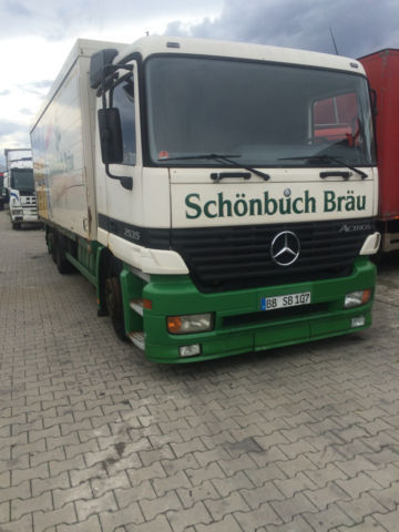 Mercedes-Benz 2535 getränke koffer beverage truck from Germany for ...