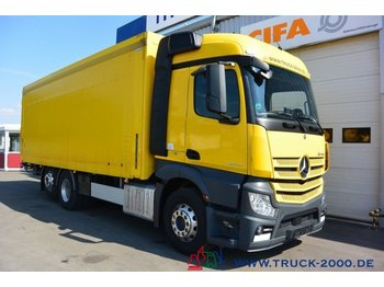 Mercedes-Benz Actros 2543 Stream Space Getränke Plane LBW 2 to - beverage truck