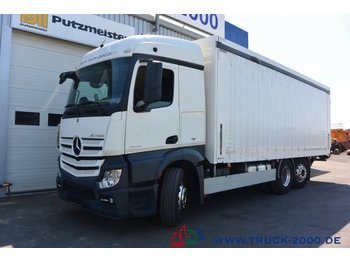 Beverage truck Mercedes-Benz Actros 2543 Stream Space Getränke Plane LBW 2 to