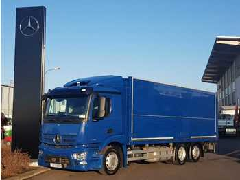 Beverage truck Mercedes-Benz Antos 2536 L 6x2 Schwenkwand+LBW+AHK Safety Pack