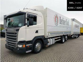 Beverage truck Scania G 410 / Retarder / Lift-Lenkachse / with trailer
