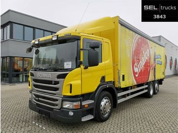 Beverage truck Scania P 320 DB6x2*4MLB / Ladebordwand / Lenkachse
