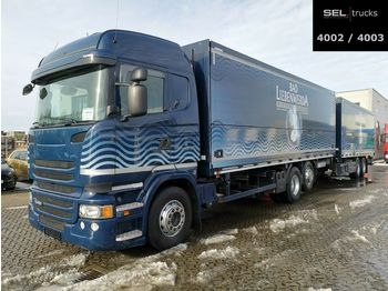 Beverage truck Scania R 450 LB6X2*4/Lenk-Liftachse/Retarder/Ladeborw.