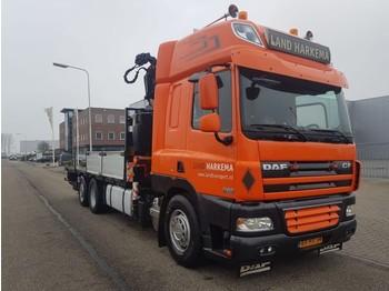 Box truck DAF 85 CF 410 Manual Fassi 33 tm