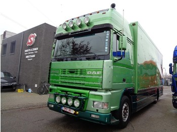 DAF 95 XF 380 SuperSpacecab E2 Full options - box truck