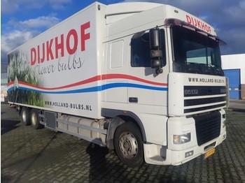 Box truck DAF 95 XF 430 SC 6X2 Euro 2