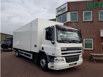 Box truck DAF CF75.250 4x2 Manual Gearbox LOW KM !!!