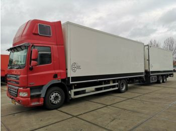 Box truck DAF CF 85.360 + DRACO - FLOWER TRANSPORT COMBINATION