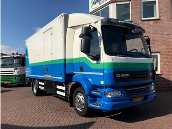 DAF LF55.220 SLEEPING CABIN WITH TAILLIFT EURO5 HOLLAND TRUCK - box truck