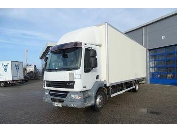Box truck DAF LF55-250 / AUTOMATIC / EURO-4 / LOW KILOMETERS / 2