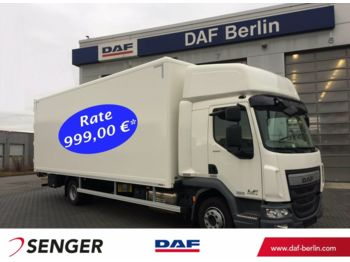 Box truck DAF LF 260 FA G12 SleeperCab, Euro 6, Klimaanlage, M: picture 1