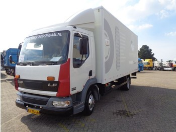 Box truck DAF LF 45 150 + MANUAL + LIFT + NL TRUCK + SPRING/SPRING