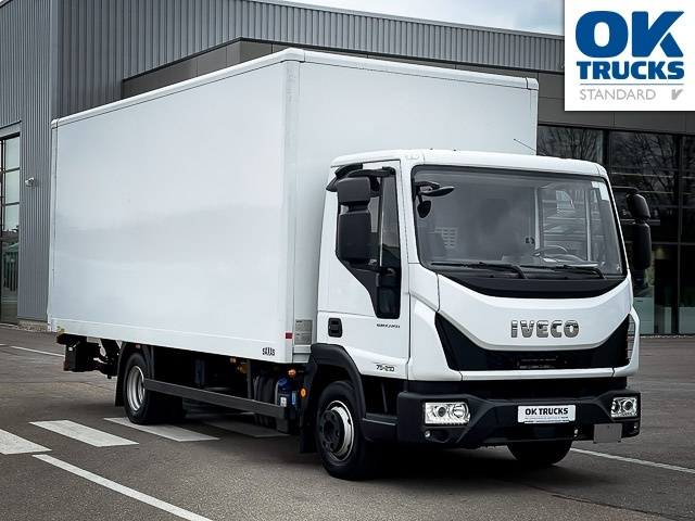 box truck IVECO Eurocargo ML75E21/P EVI_C