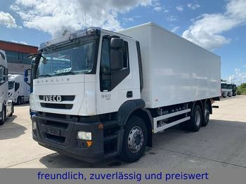 Box truck Iveco *360*EURO 5 EEV*KOFFER*3.ACHS*LENK/LIFTACHSE*