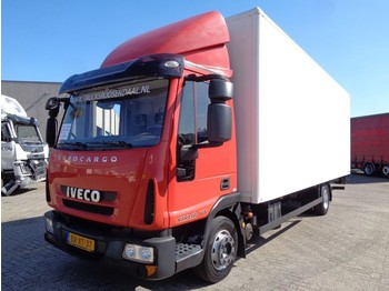 Iveco EUROCARGO 120 EL 22 + MANUAL + LIFT + BIG BOX + NL TRUCK - box truck