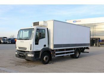 Box truck Iveco EUROCARGO ML 160E21,HYDRAULIC LIFT,THERMO KING