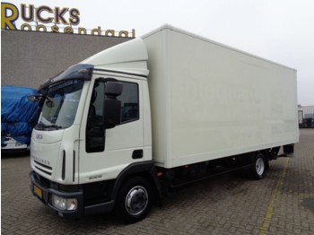 Box truck Iveco Eurocargo 80E18 + Manual + Euro 5 + Airco + Lift