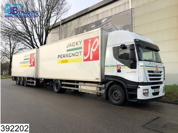 Iveco Stralis 450 AS, EURO 5 EEV, Manual, Retarder, Airco, Combi, Load-through system - box truck