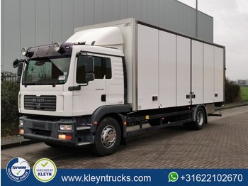 MAN 18.280 TGM ll side doors 1x bed - box truck