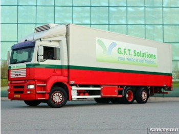 Box truck MAN H20 TGA 26.313 CLOSED BOX WITH TAIL LIFT EURO 3 FULL AIR