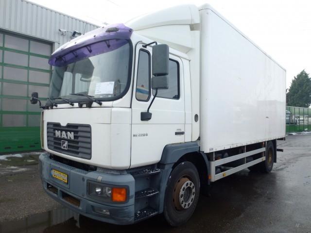 Box truck MAN M39 18 ML 12 0 - Truck1 ID: 1114277