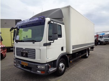 MAN TGL 12.180 + Manual + Dhollandia - box truck