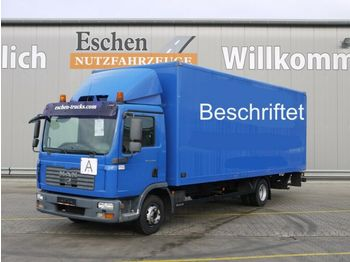 Box truck MAN TGL 12.240 BL, 4x2, LBW, Klima, Bl/Lu, AHK