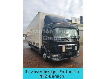 Box truck MAN TGL 12.250  8,14 m Koffer LBW Klima EURO 6