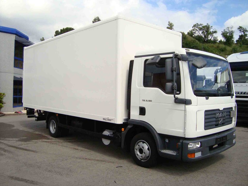 man tgl box truck from spain for sale at truck1 id 1055385. Black Bedroom Furniture Sets. Home Design Ideas