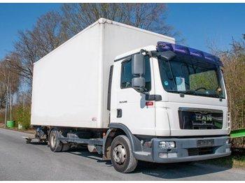 Box truck MAN TGL 8.180 4x2 BL Koffer mit Ladegerät 1500kg