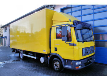 Box truck MAN TGL 8.180 BL 4x2 Koffer + Ladebordwand