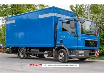 Box truck MAN TGL 8.180 Koffer Dautel 1500kg Ladebordwand