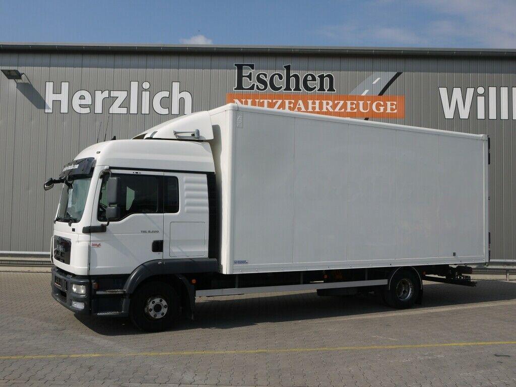 box truck MAN TGL 8.220 BL*Alukoffer*Schalter*Klima, 1, Hand