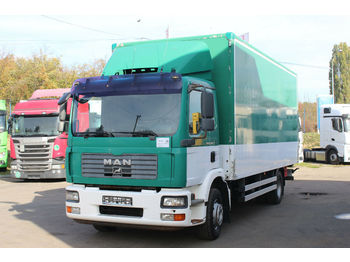 Box truck MAN TGM 15.240 4X2 , HYDRAULIC LIFT