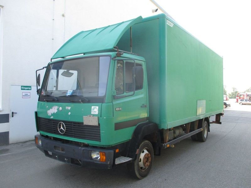 MERCEDES-BENZ 814 LN2 box truck from Austria for sale at ...