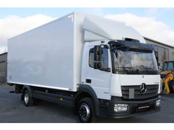 Box truck MERCEDES-BENZ ATEGO 1224 E6 KOFFER CONTAINER BOX 7.2 M 18 PALLETS