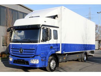 MERCEDES-BENZ ATEGO 1224 E6 REMOVAL SQUAD 6 PERSONS KOFFER CONTAINER - box truck