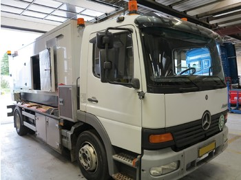 MERCEDES-BENZ Atego 1323 330KVA Scania V8/Asea - Removable - box truck