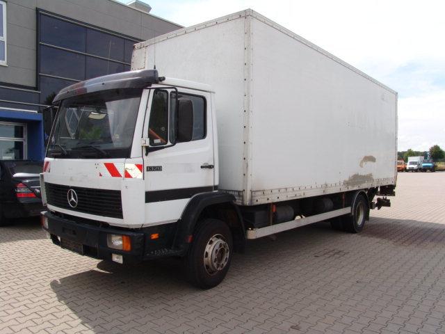 mercedes benz db 1320 box truck from germany for sale at truck1 id rh truck1 eu Mercedes Manuals Marietta GA 2014 Mercedes Manual