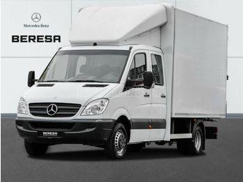 Box truck MERCEDES-BENZ SPRINTER 519 cdi DOKA Koffer