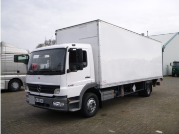 Box truck Mercedes Atego 1318 4x2 closed box