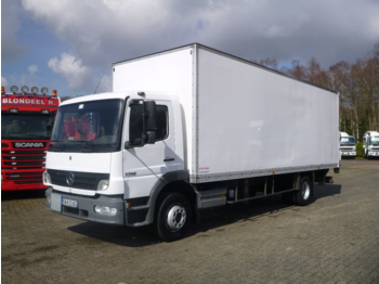 Box truck Mercedes Atego 1318 4x2 closed box + taillift
